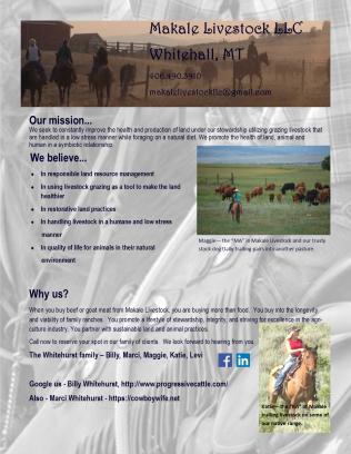 Makale Livestock LLC Brochure